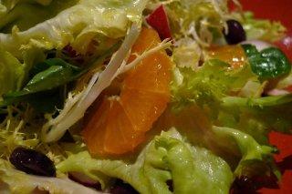 Receta de ensalada de escarola con naranja