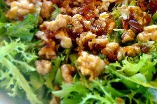 Receta de ensalada de escarola con nueces