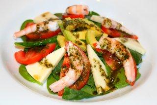 Receta de ensalada de espinacas al cilantro