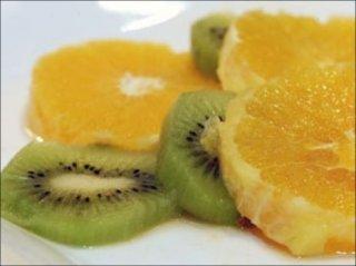 Receta de ensalada de frutas con pistachos