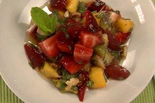 Receta de ensalada de macedonia de frutas