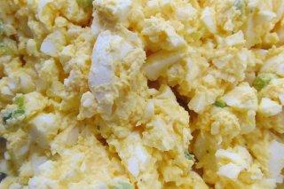 Receta de ensalada de huevo cocido