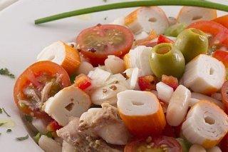 Receta de ensalada de judías blancas a la mostaza
