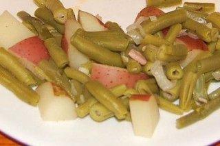 Receta de ensalada de judías con patata