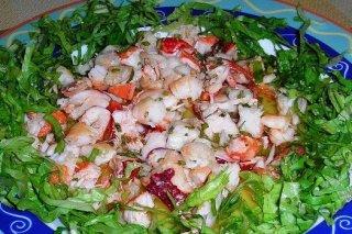 Receta de ensalada de langosta