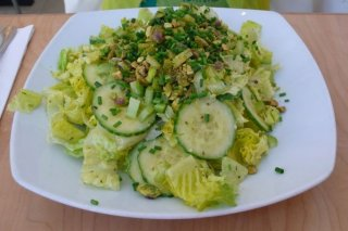 Receta de ensalada de lechuga con pepino