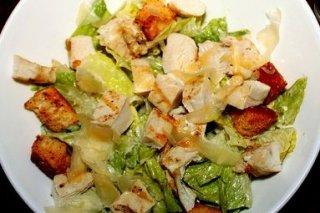 Receta de ensalada de lechuga y pollo