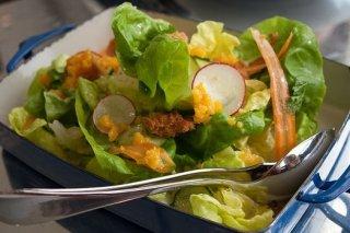 Receta de ensalada de lechuga y rábano