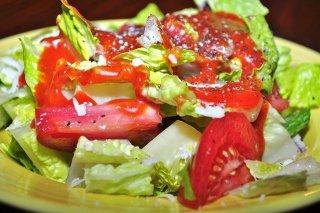 Receta de ensalada de lechuga y tomate