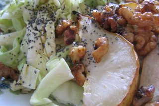 Receta de ensalada de manzana asada