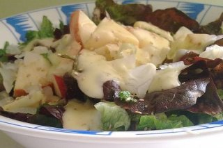 Receta de ensalada de manzana con  mostaza