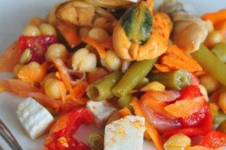 Receta de ensalada de mejillones