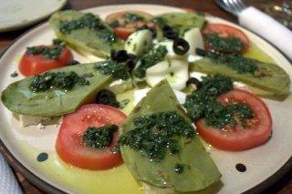 Receta de ensalada de nopales con tomate