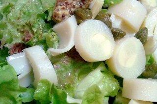 Receta de ensalada de palmitos
