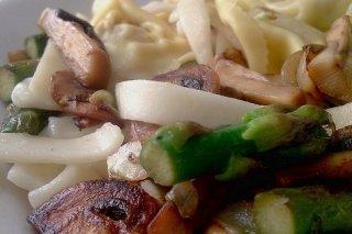Receta de ensalada de pasta con verduras