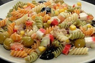 Receta de ensalada de pasta fría