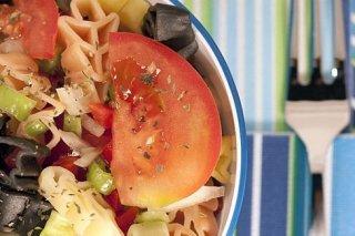 Receta de ensalada de pasta tricolor