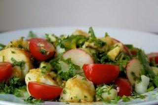Receta de ensalada de patata con alcaparras