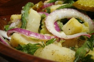 Receta de ensalada de piña y judías verdes
