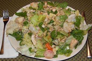 Receta de ensalada de pollo china