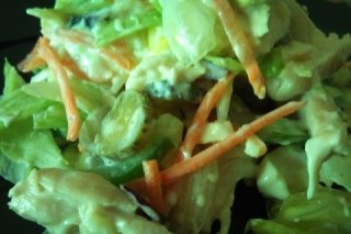 Receta de ensalada de pollo light
