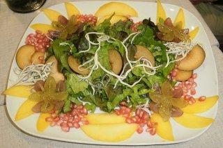 Receta de ensalada de pollo y kiwi