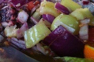 Receta de ensalada de pulpo con patata