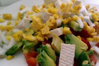 Receta de ensalada de queso fresco
