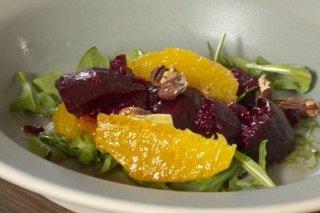 Receta de ensalada de remolacha y naranja