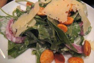 Receta de ensalada de rúcula con queso