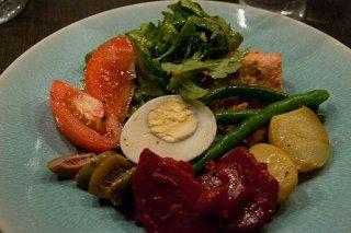 Receta de ensalada de salmón y huevo