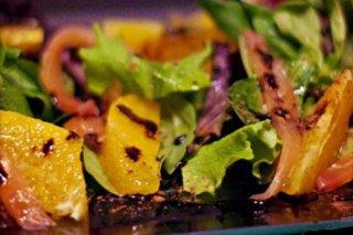 Receta de ensalada de salmón y naranja