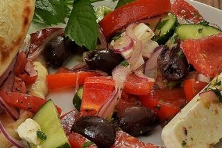 Receta de ensalada de tomate a la mexicana