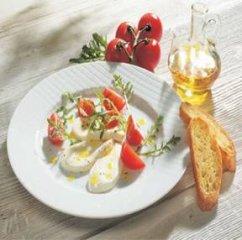Receta de ensalada de tomate y mozzarella