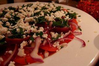 Receta de ensalada de tomate y perejil