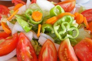 Receta de ensalada de tomate y zanahoria