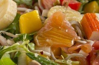 Receta de ensalada de verano con gulas