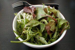 Receta de ensalada de verduras con vinagreta