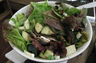 Receta de ensalada de verduras frescas