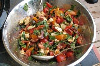 Receta de ensalada de verduras marinadas