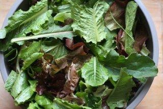 Receta de ensalada de verduras mixtas