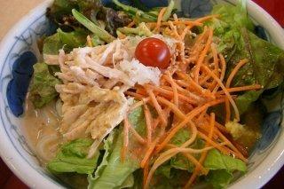 Receta de ensalada de verduras para diabéticos
