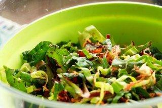 Receta de ensalada de verduras para dieta