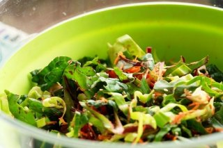 Receta de ensalada de verduras para niños