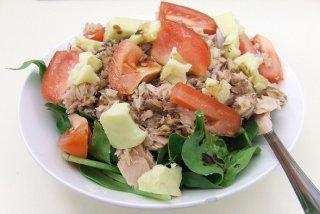 Receta de ensalada de verduras tradicional