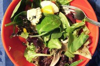 Receta de ensalada de verduras vegetariana