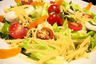 Receta de ensalada de verduras y queso