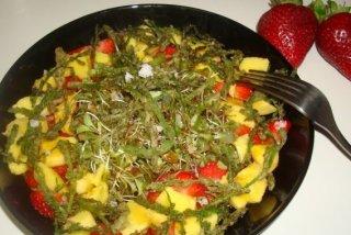 Receta de ensalada exótica