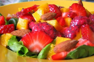 Receta de ensalada hawaiana de frutas