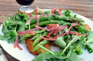 Receta de ensalada italiana con rúcula